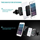 Car Phone Holder Air Vent, Mpow Magnetic Car Phone Mount 360 Degree Swivel Phone Holder for Car Cradle Universal Car Mount for iPhone 7 6 6 Plus 5 Samsung S8 S7 LG Sony Huawei and Other Smartphones Bild 2