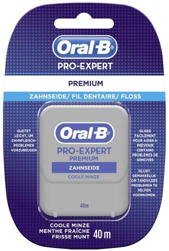 Oral-B - Proexpert Premium, filo interdentale, 4 confezioni singole, 40