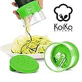 KoiKo Kitchen – Cortador de alimentos en espiral   Nuevo   100% Garantía...