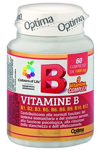 Colours Of Life Vitamine B, 60 Compresse 1000 Mg