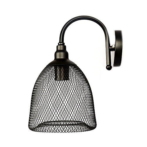 Apliques Pared Vintage Industrial Lámpara Pared Cesta