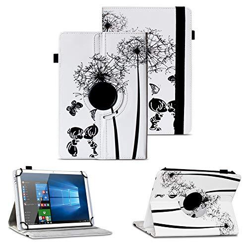 NAUC Tablet Schutz Hülle XORO TelePAD 10A3 Tasche Schutzhülle Universal Case Cover, Farben:Motiv 8