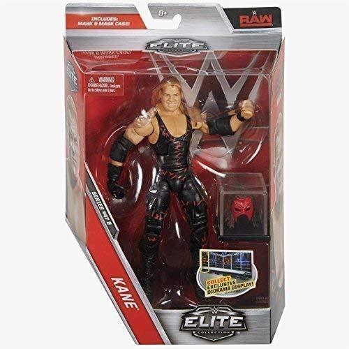 WWE Elite Serie 47.5 Actionfigur - Kane Mit Abnehmbarer Maske & Display Box