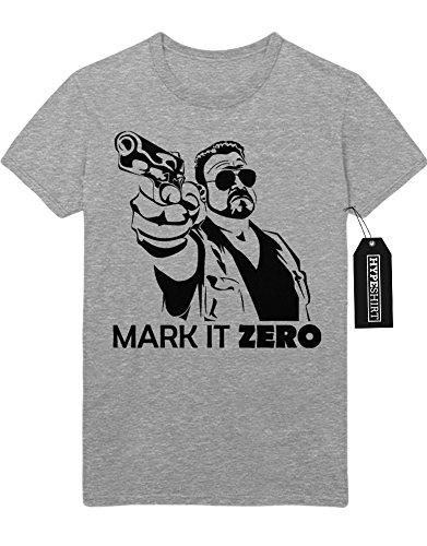 T-Shirt Mark It Zero Walter Sobchak Big Lebowski C112258 Grau M
