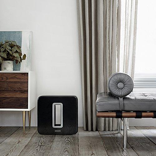 Sonos Sub 1° Generazione, Subwoofer Wireless, Integrabile ai Sistemi Sonos, Nero - 6