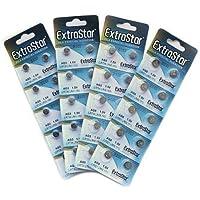EXTRASTAR 10 x AG3 pilas de botón 1,5 V LR41 LR736 392 A SR736 SG3
