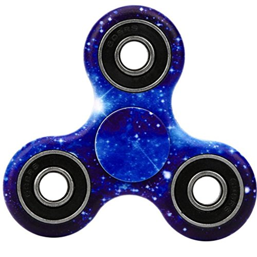 hand-spinnersaingace-starry-sky-pattern-adult-kids-fidget-spinner-triangle-single-finger-decompressi