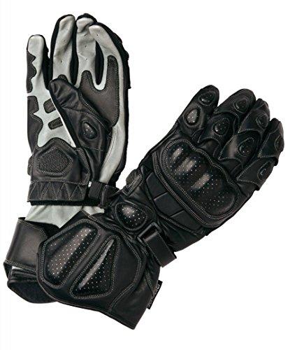 Modeka Racing Pro Handschuhe 12 Schwarz/Grau