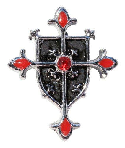 Colgante en forma de cruz Shield: Protección de Evil (talismans Knights Templar)