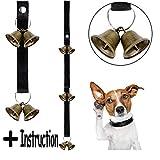 Whaline Dog Potty Bells Regolabile Cucciolo campanelli per l' addestramento del Cane e Housebreaking Your Doggy con Guida di Istruzioni