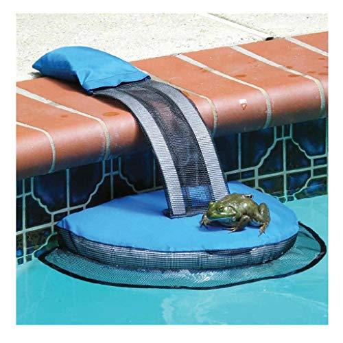 Log-pool (SO-buts Schwimmbecken Tierrettung Fluchtrampe Geeignet, Tierrettung Fluchtrampe für Schwimmbecken, Frosch Log Fluchtgeräte für Kleintiere in Schwimmbecken (1 PC))