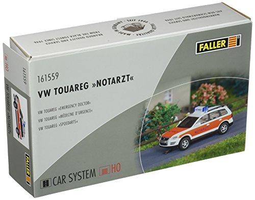 faller car system h0 Faller FA161559 - VW Touareg Notarzt Wiking, Zubehör für die Modelleisenbahn, Modellbau