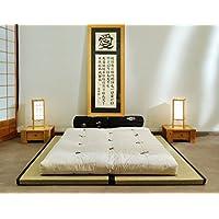 Futon On Line Combinación 2 Tatamis (80x200x5,5cm) futón algodón (140x200x13cm)