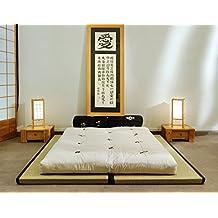 Combinación 2 Tatamis (80x200x5,5cm) futón algodón (140x200x13cm)