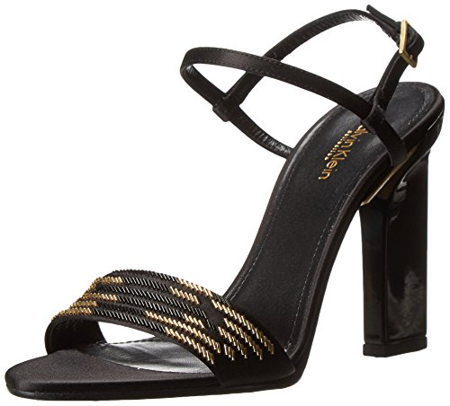calvin-klein-collection-vina-bugle-femmes-us-9-noir-sandales