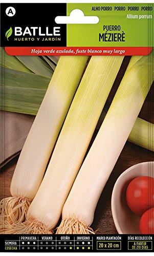 Batlle Gemüsesamen - Porree Lang Mézière (2000 Samen)