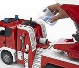 bruder 03590 Scania R-Serie Feuerwehrleiterwagen mit Wasserpumpe und Light & Sound Modul für bruder 03590 Scania R-Serie Feuerwehrleiterwagen mit Wasserpumpe und Light & Sound Modul