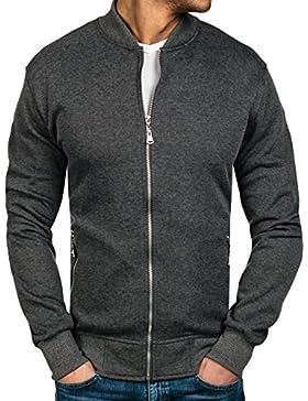 BOLF - Felpa - Pullover - Manica lunga - Collo alto - Classic - Motivo - 1A1
