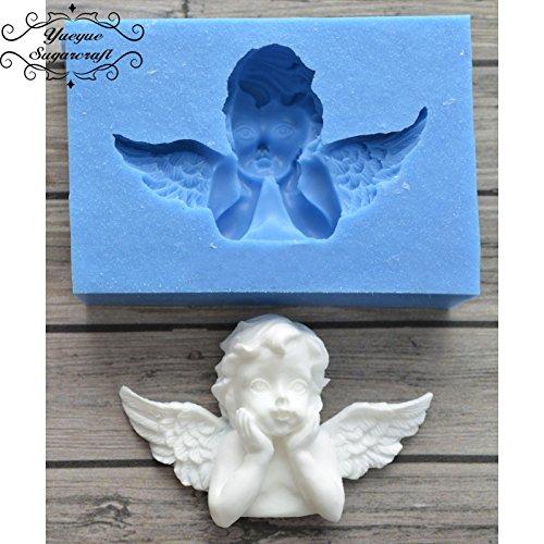 yueyue Sugarcraft Neueste Angel Rahmen Silikon Form für Fondant, Kuchen dekorieren Tools Schokolade gumpaste Form (Gumpaste Cutter Tool)