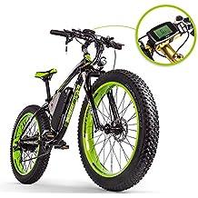 RICH BIT RT-012 E-Bike Vélo électrique 26''* 4.0 gras Pneu Neige Bike Vélo électrique Ebike 1000 W Haute Puissance Moteur 48 V * 17 Ah Batterie au lithium de grande capacité High Life 21 vitesses Shimano Frein à disque Compteur de vitesse