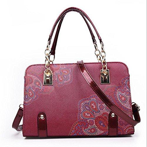 GBT 2016 Neue Dame-Handtaschen-Art- und Weiseschulter-Beutel Red