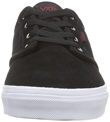 Vans ATWOOD Unisex-Kinder Sneakers Schwarz ((Quilt) black/marshmallow)