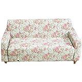 FORCHEER Sofabezug Elastisch 4-Sitzer Sofa-Überwürfe Sesselhussen Elastisch Hautfreundlich 225-290cm (89-114inches)