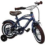 TW24 Kinderfahrräder - Fahrrad - Kinderrad - 12 Zoll mit Motivauswahl (Yipeeh Blue Cruiser)
