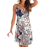 Fannyfuny Vestido Ropa Mujer verano de fiesta playa mujer vestidos largos vestidos cortos casual elegante...