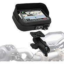 Porta Navigatore GPS Moto BMW R 1200 RT 05-13 SW-Motech Case Pro L