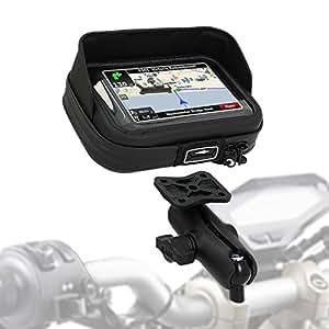 Support GPS Moto Ducati Scrambler 2015 SW-Motech Case Pro M