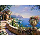 YKCKSD Puzzle 1000 Teile Strand Seascape DIY Home Wand-Dekor-Acrylbild-Hand Für Inneneinrichtungen