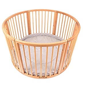 Brand NEW VERY LARGE Wooden PLAYPEN from ALANEL Sunzit 【Ergonomic Design】: The auxiliary spine micro-C structure and leg opening design, natural M-type sitting.Thickening sponge soft filling, effectively relieve Mommy abdominal force. We add anti-wear pads in the armpit and thighs to protect the baby's skin. 【Double Safety】: Double-protection design, hook & loop fastener accompanied with waistband buckle, provides safer and more stable waist support; The baby carrier allows adjustment of waist support for comfort to alleviate pressure on shoulders 【MATERIAL】: The baby carrier is made of 100% skin-friendly cotton fabric, the baby carrier would cradle your baby comfortably; Unique comfort pad prevents back pains from squeeze of back buckle; Anti-scratch edges, designed with cotton fabric, help avoid injuries to baby's legs from scratches 10