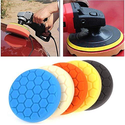 Wady 15,2 cm 150 mm Polierpad-Kit für Auto-Polierer Packung mit 5 Stück