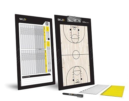 SKLZ Coaches Board Magna Basketball Trainer Taktikbrett und Magnettafel, NSK000048