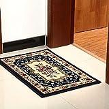 good Thing Teppich/Teppich europäischen klassischen Stil Dicke Grün Fußmatten Schlafzimmer Eingangstür Fußmatte Fußmatte a