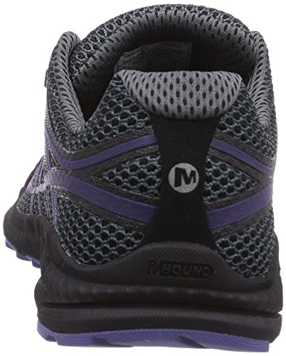 Merrell Mix Master Move 2, Running Entrainement Femme Grau (DARK GREY/LT PURPLE)