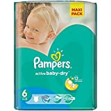 Pack 36 couches Active Pampers Baby Dry