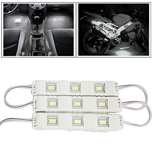Vheelocityin 9 LED Custom Cuttable Bike/ Car White Light for...