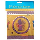 Happy 1st Birthday Me to You Bear Banner