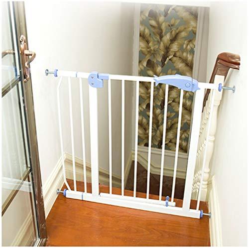 YONGYONG-Guardrail Türschutzgitter Treppenschutzgitter Haustier Zaun Erweitern Gartentor Kind Baby Tür Zaun Isolation Tür Treppe Zaun Tür Free Punch (Color : High100cm Width, Size : 75-84cm)