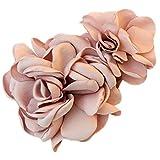 La fleur de simulation Barrette à cheveux décorations de cheveux (rose)...