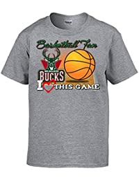 Camiseta NBA Milwaukee Bucks Baloncesto Basketball Fan I Love This Game