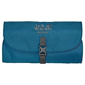 Jack Wolfskin Unisex Kulturbeutel Waschsalon, moroccan blue, 48 x 32 x 5 cm, 1 liter, 86130-1800