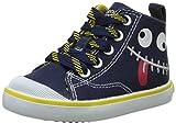 Geox Baby Jungen B Kiwi Boy B Lauflernschuhe, Blau (Navy/YELLOWC0657), 24 EU