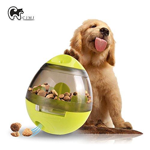 Interaktive Hunde Spielzeug Ball ,CJMJ Hundefutter Spender Unzerstörbar Puzzle Hundespielzeug