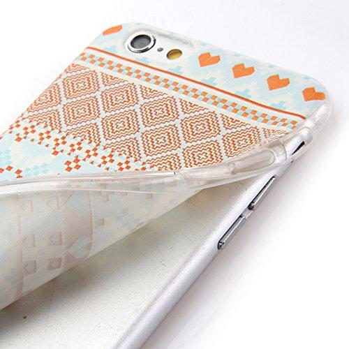 Etche Boîtier en caoutchouc pour iPhone 5/5S,Cas de TPU pour iPhone 5/5S,Coque pour iPhone 5/5S,Colorful série Imprimé Housse de la peau de pare-chocs TPU Soft en caoutchouc de silicone pour iPhone 5/ TPU #21