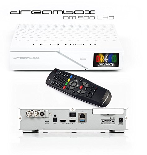 Dreambox DM900  We UHD 4  K 2x DVB S2X 1x DVB-C T2  Triple Tuner HDD 2TB E2  Linux PVR Receiver