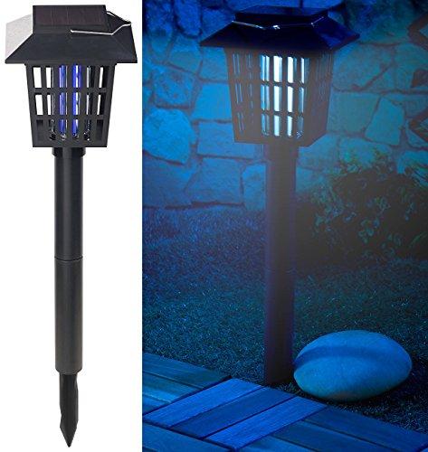 Royal Gardineer Solar Insektenvernichter: 2in1-Solar-LED-Gartenlicht & Insekten-Vernichter, 1 UV-LED, IPX4 (UV Insektenvernichter) Royal-lampe