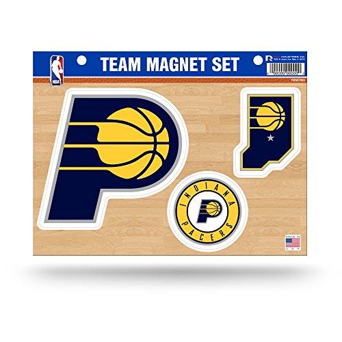 Unbekannt Rico NBA Cleveland Cavaliers Team Magnet-Set, Unisex, NBA, Blau/Gelb Cleveland Cavaliers-magnet